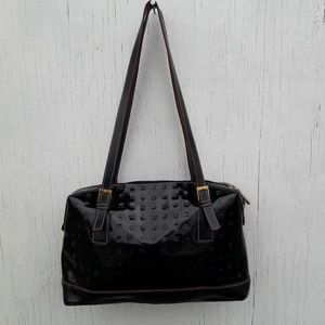 Acadia Patent Leather Bag